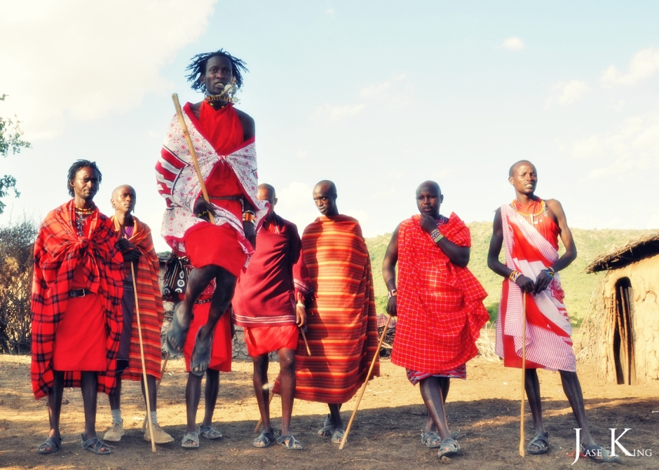 The Maasai and the Maasai Mara.