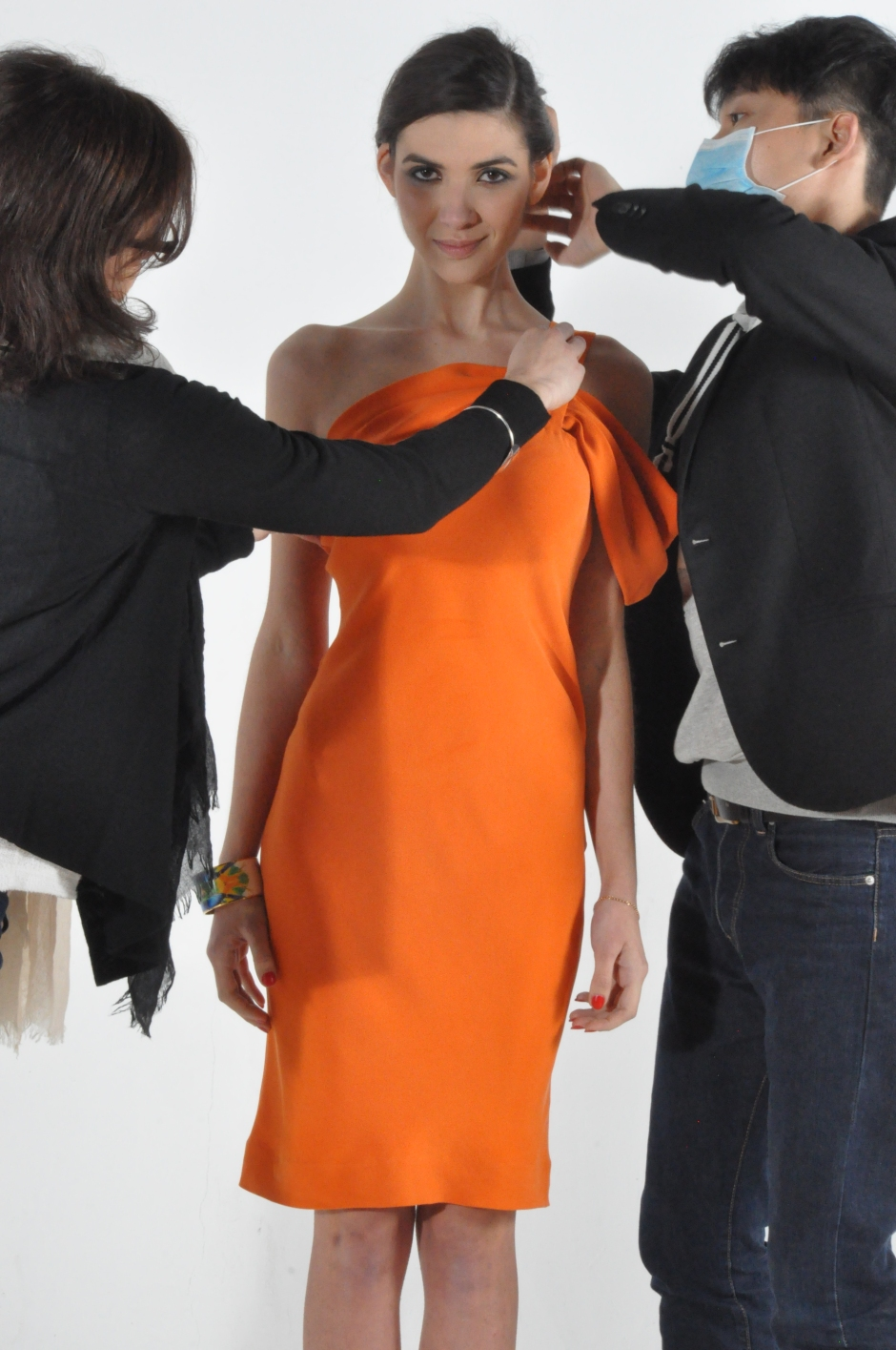 Backstage at IDIOSA Look Book